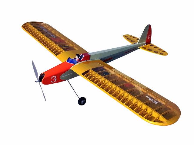 シャインSH03-1320D肩翼エルロン練習機